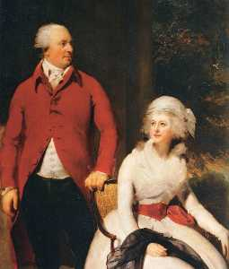Thomas Lawrence - M. et mme john julius angerstein ( détail )