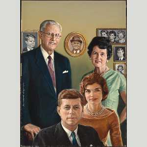Bernard Safran - the kennedy famille
