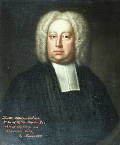 James Fellowes - le révérend richard davies ( 1637–1746 ) , 5th Fils de mytton davies , MP de gwysaney et llannerch Parc