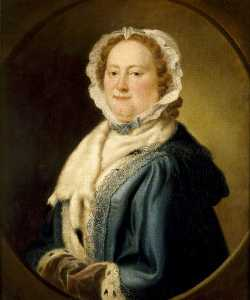 Richard Phelps - margaret trevelyan ( 1704–1764 ) , mme alexander luttrell , Plus tard mme edward Digue