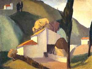 William Crozier - italien paysage