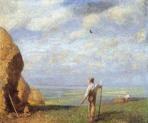 George Clausen - vert champs