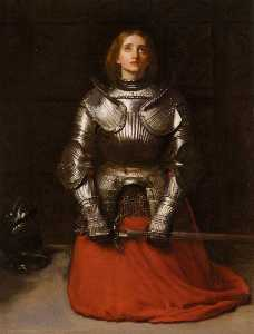 John Everett Millais - english joan d'arc español juana de Arco