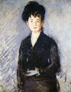 Edouard Manet - isabelle lemonier , Femme dotée épingle d-or